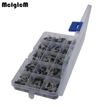 McIgIcM 15 value 600pcs Bipolar Transistor TO-92 Box Kit A1015 - 2N5551(China)