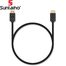Suntaiho 4K High Speed Gold Plated HDMI Cable HDMI to HDMI Cable 1M 2M 3M 5M 10M 2.0 Vertiong HDMI Cable for 4K HD LCD PS3 Xbox(China)