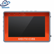 SSICON Newest 4.3 Inch 1080P AHD TVI Analog CVBS 3 In 1 CCTV Tester Monitor For Camera Mini Size CCTV Camera Tester(China)