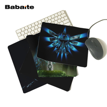 BabaiteArrival The Legend of Zelda Eagles Logos Triforce Sword Triforce Customized Mouse Pad Computer Notebook Non-Slip Mousepad