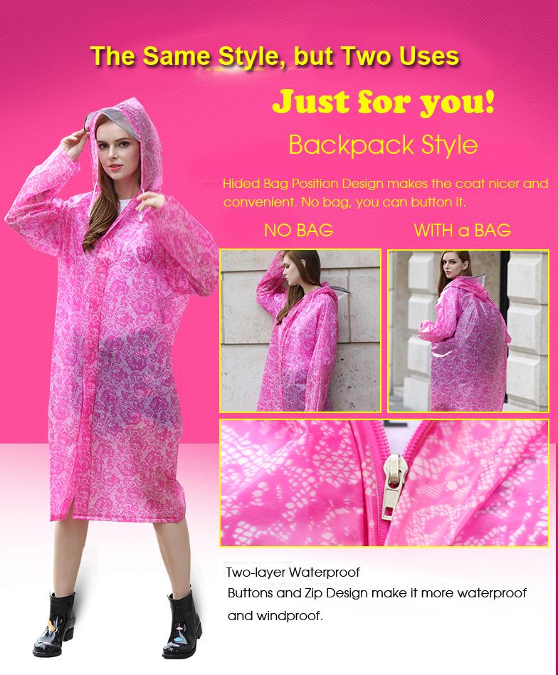 Women Lace Raincoats 16