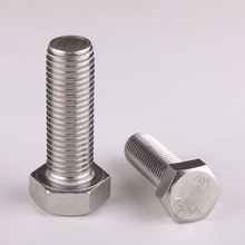 304 Stainless Steel Hex Bolts Hex Bolts Hex Whole Tooth M6(China)