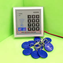 Hot selling High Quality Proximity RFID Door Controller Password Keypad Access Control System K2000 rfid access control(China)