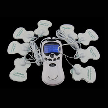 TENS Body Healthy care Digital meridian therapy massager machine Slim Slimming Muscle Relax Fat Burner pain new 2*4 pads massage(China)