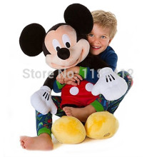 Original Mickey Mouse Plush Toy Large 62CM 25'' Cute Minnie Mickey Pelucia Stuffed Animals Baby Kids Toys for Children Gifts
