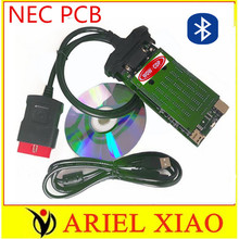 best green PCB VD TCS CDP new vci with bluetooth for cars and trucks obd2 auto diagnostic tool as multidiag pro+ mvd