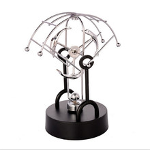 rotary instrument dolphin perpetual physical model of magnetic pendulum metal craft ornaments home decoration