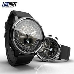 LOKMAT мужские спортивные водонепроницаемые умные часы
