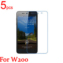5pcs glossy Ultra Clear/Matte/Nano anti-Explosion LCD Screen Protector Film Cover For THL W100 W200 W300 T100 Protective Film