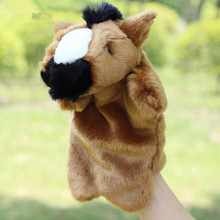 Hot Sale Plush Puppet Cute Horse Hand Puppet Animal Plush Doll Toys For Kids Baby Birthday Christmas Gifts