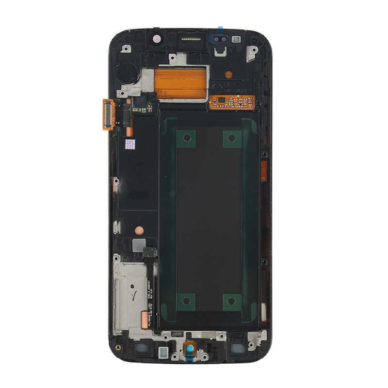 Super AMOLED Display for SAMSUNG Galaxy s6 edge LCD G925 G925I G925F Touch Screen Digitizer with Frame (7)