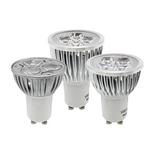 1pcs Super Bright GU10 9W 12W 15W LED Spotlight Dimmable Spot Light AC 85-265V Bulbs Ceiling Lamp Lighting High Lumens(China)
