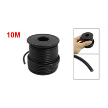 LHLL-New 231g Auto Car Insulated 1.5mm2 Single Core Cable Wire Black 10M 10.9 Yards