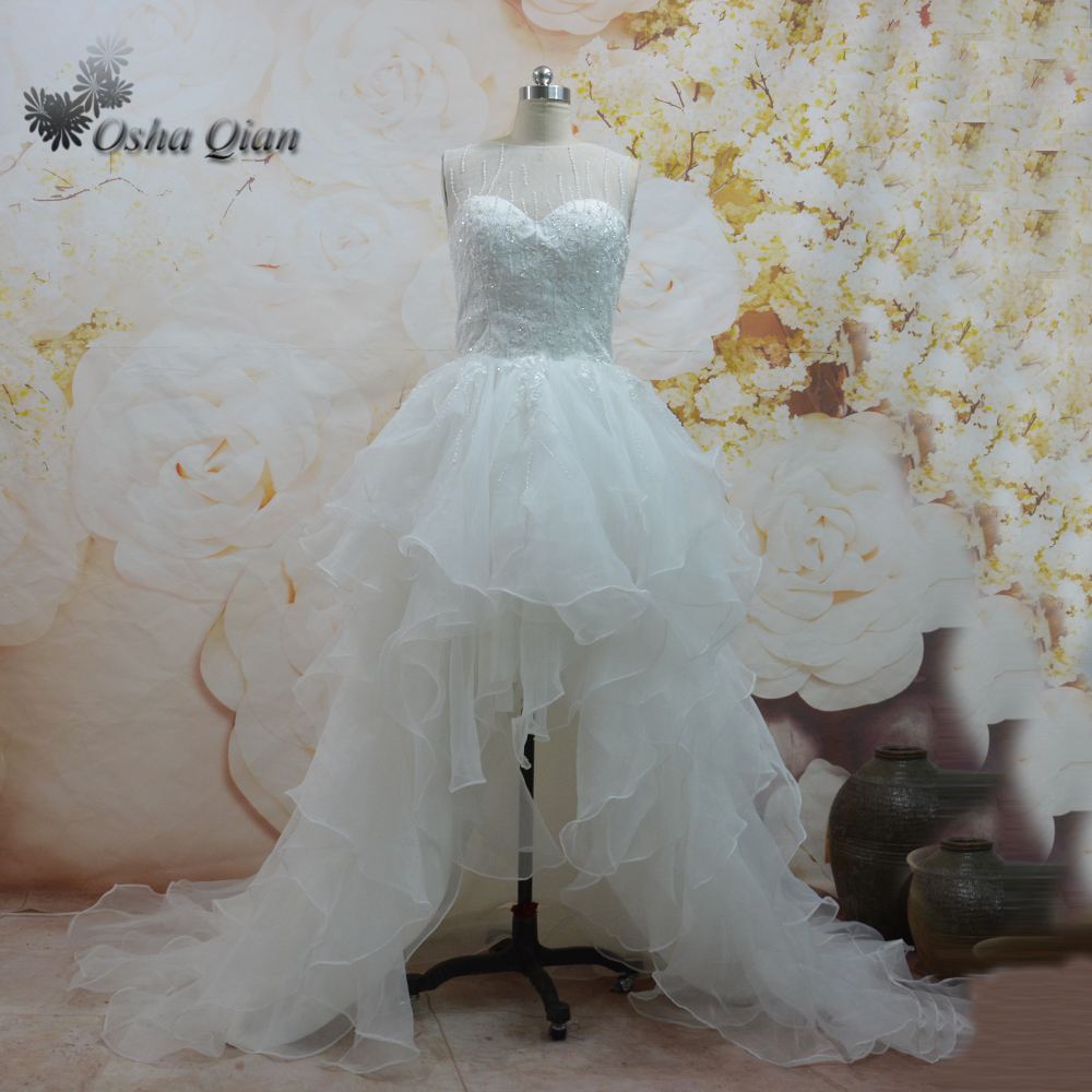 Wedding Dress High Low Lace Promotion-Shop for Promotional Wedding ...