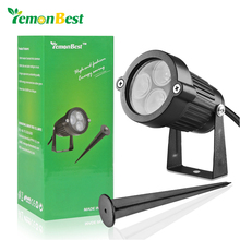 Lemonbest led Garden Lawn lamps Outdoor lighting 12V 3*3W IP65 Waterproof LED Garden Pond path flood spot Light bulbs 12V(China)