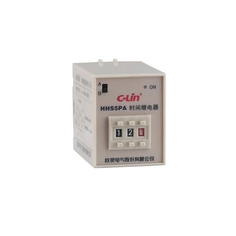 HHS5PA Numeralization Time Relay ST3P Upgrade Fund More Function Electricity Time Delay Type AC220V<br>