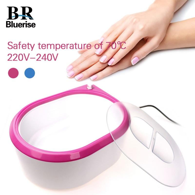 Bluerise 265W Paraffin Wax Warmer Heater EU Plug Brush Nail Art Beauty Equipment Body Hand Feet Heater Warmer Spa Bath Machine<br>