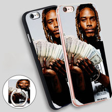 fetty wap merry xmas Soft TPU Silicone Phone Case Cover for iPhone 4 4S 5C 5 SE 5S 6 6S 7 Plus