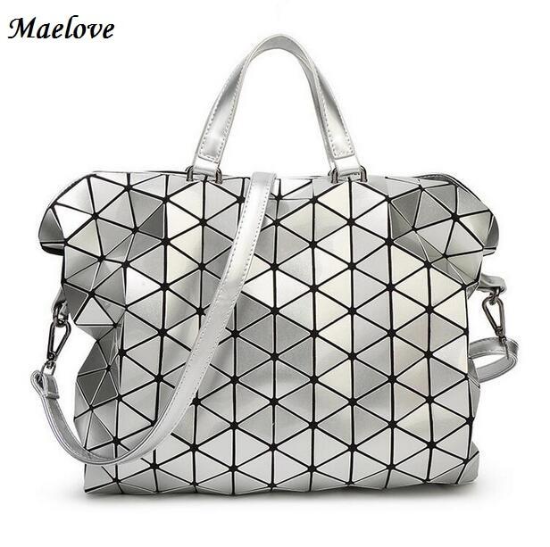 Maelove 2017 Vintage Brand Woman-Bag Plaid tote Handbags Fashion Shoulder Bags Diamond Lattice Handbag Free Shipping <br>