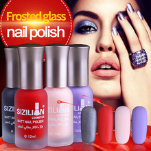 Matte red nail polish bottle Manicure professional nagellak cute makeup red 40 colors