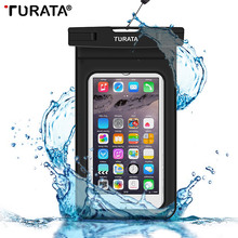 TURATA [Waterproof] PVC Bag Case Pouch Phone Cases for iPhone 6/6s Plus/5 5S 4S Samsung Galaxy S7/S6/S5/S4/ Samsung Note 5/4/3/2