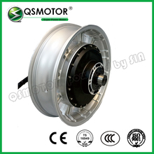 QS Motor 17X4.5inch Electric in wheel hub 3000W 273 40H V3 72V Brushless DC Electric Scooter Motorcycle Hub Motor
