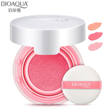 BIOAQUA Brand Cushion Blusher Palette Nude Makeup Mineral Blush Bronzer Powder New Cosmetics Sleek Maquiagem Korean Make Up(China)