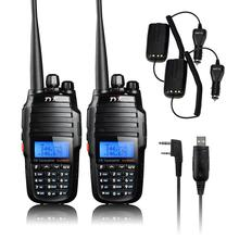 Original TYT TH-UV8000D Ultra-high Output Power 10W Transceiver Walkie Talkie Dual Band Two Way Radio+USB Programming Cable(China)