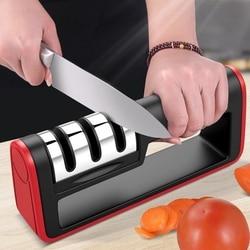 Вольфрамовая сталь алмазное Точило кухонные инструменты из нержавеющей стали керамический камень для заточки ножей Профессиональная точи...