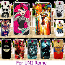 Soft TPU Painted Phone Case UMI Rome X 5.5 inch Smartphone Shell Hard Back Cover Skin Housing Hood - ShenZhen WEE Cases Store store