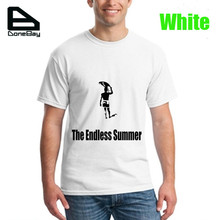 T Shirts The Endless Summer Tee Shirt Men Off White Black Pink Color T-shirts Plus Size XS-3XL Free Shipping