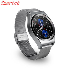 Smartch Hot Sales Best Smart Watch X10 With LCD HD Full circle Display Smartwatch Sleep Monitoring For Android 4.3 and IOS 7.0(China)