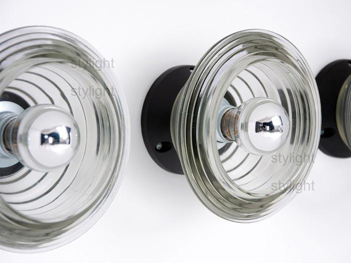 Tom-Dixon-Pressed-Glass-Bowl-Wall-Lights
