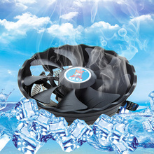 DC12V 3 PIN Silent CPU Cooler Cooling Fan Heatsink Support Intel/AMD Desktop PC