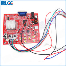 CGA to VGA CVBS Arcade Game Video Converter Board for LCD PDP Monitor High Definition (Red)