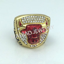 Factory direct sell 2017 hot sale Bulls 1993 Jordan Championship Rings for man(China)