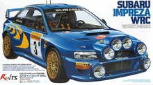 RealTS Tamiya #24199 Automotive Model 1/24 Car Impreza WRC 98 Monte-Carlo Hobby Model Kit(China)
