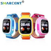 Q90 GPS Smart baby smart watch Q90 phone kids GPS Wifi Smart Watch SOS GPS Location Device Tracker Kid Safe Monitor children(China)
