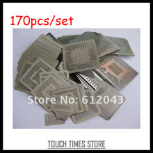 Free Shipping BGA Direct Heating Stencil, BGA Stencil, BGA Direct Heating Template 170pcs For Laptop and Console