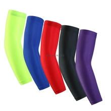 Breathable Quick Dry Hiking Cycling Sport Basketball Elbow Support Pads Powerlifting Volleyball Gym Arm Sleeves Protection