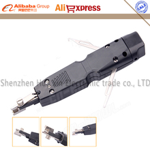 Free shipping Portable impact punch down tool used on KRONE 110 type 10 pairs Module Terminal Board Crimping Device