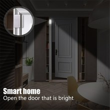 LED Smart Auto Darkness Magnetic Light Sensor Night Lights Wall Lamp Battery Powered Opening Door Drawer Home Lighting(China)