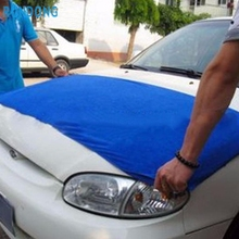 New Arrival 160*60cm Soft Blue Microfiber Cleaning Towel Car Auto Wash Dry Clean Cloth Ap20