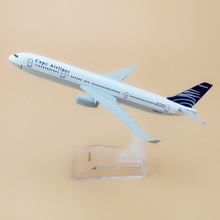 Alloy Metal Air Copa Airlines A330 Airplane Model Copa Airbus 330 Airways Plane Model Stand Aircraft Kids Gifts 16cm(China)
