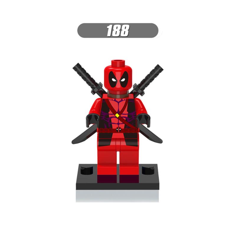 XH188-red Deadpool-Wade T. Wilson
