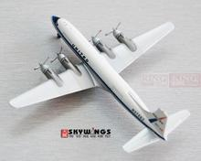 ACN37593 Aeroclassics United Airlines N37593 1:400 DC-6A aircraft commercial jetliners plane model hobby