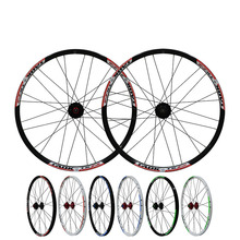 MTB Mountain Bikes Road Bicycles 24 inch Hubs Disc Brake Wheel Wheelset Clincher Rim 24 Holes(China)