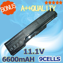 9 cells 6600mah Replacement Laptop Battery For Dell XPS M1730 laptop 312-0680 HG307 WG317 OEM Laptop Battery Li-ion Battery