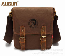 Thick canvas bag high quality men messenger bags fashion shoulder bags brand men bag(China)