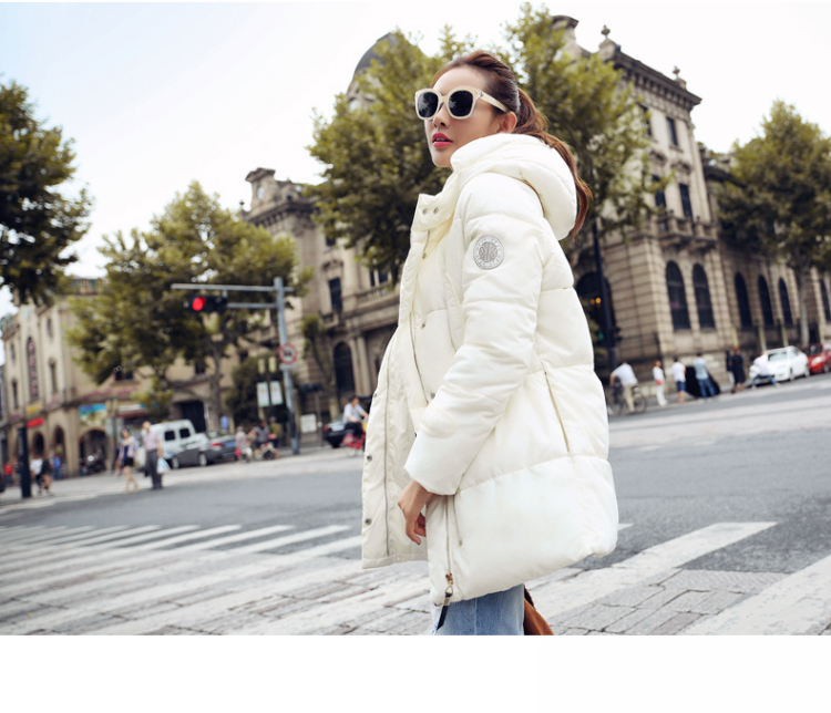 Womens Winter Jacket 2017 New Arrival Hooded Down Coat Female Winter Coats Thickening Down Cotton Winter Parkas Women OutwearОдежда и ак�е��уары<br><br><br>Aliexpress